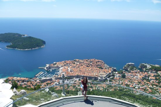 Funiculaire de Dubrovnik : View from the top
