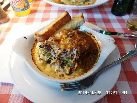 Rodolfino: I liked the lasagna alot!