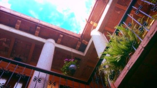 Hotel Posada del Centro: El cielo azul de Oaxaca, adorna este espacio