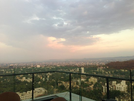 JW Marriott Hotel Pune : view from paasha
