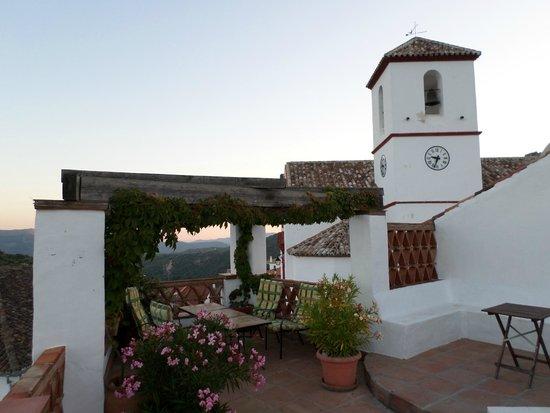 Hotel Los Castanos : Terrace