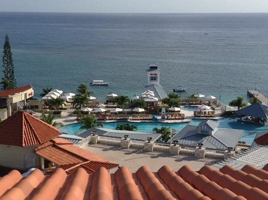 Beaches Ocho Rios Resort & Golf Club: view from the penthouse