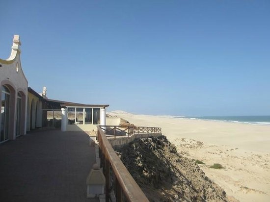 IBEROSTAR Club Boa Vista : Vue depuis la terrasse du restaurant
