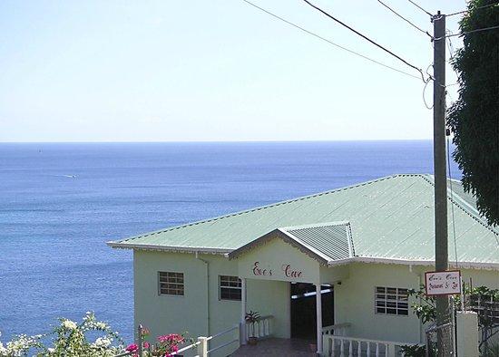 Eve's Cove Restaurant & Bar: The Restaurant above the bay