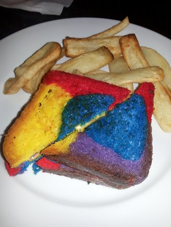 The Wave...of American Flavors: Rainbow bread