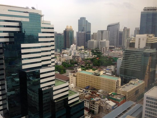 Crowne Plaza Bangkok Lumpini Park: 眺望