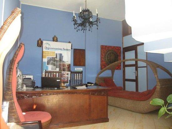 Hotel Aquamarina Suites THe Senses Collection: Hall de réception
