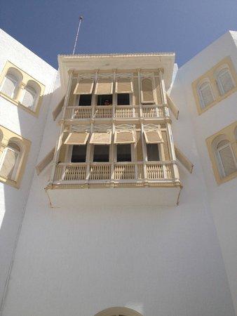 Ramada Liberty Resort Hotel: Window overlooking courtyard