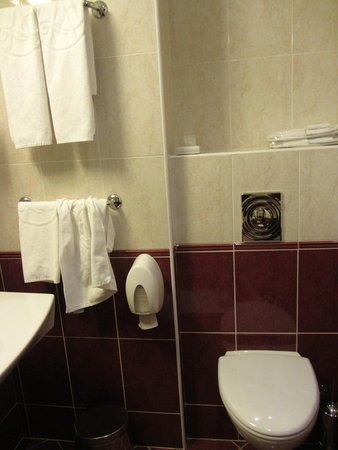Ambassador Hotel: Toilet and amenities