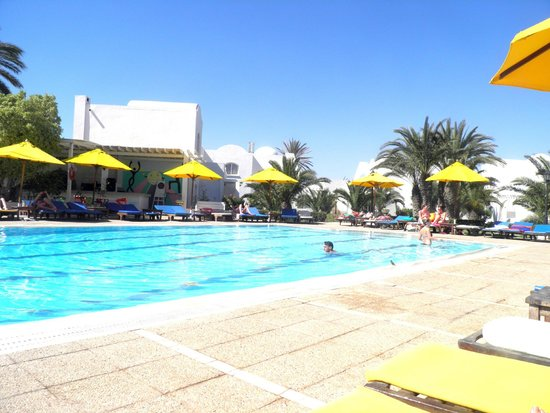 Hotel Djerba Haroun : Pool area