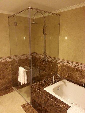 Rex Hotel: Nice shower