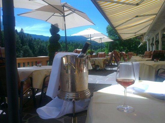 Romantik Alpenhotel Waxenstein: Schmetterling Rosé