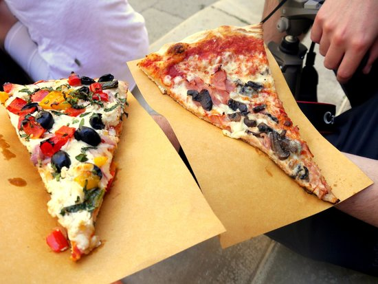 Antico Forno : one thick, one thin