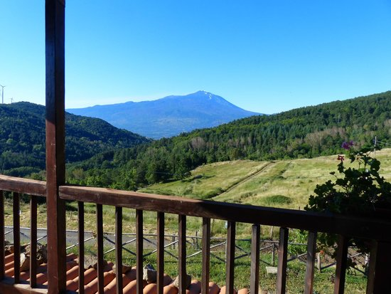 Agriturismo Il Noceto: Vue du balcon devant notre chambre