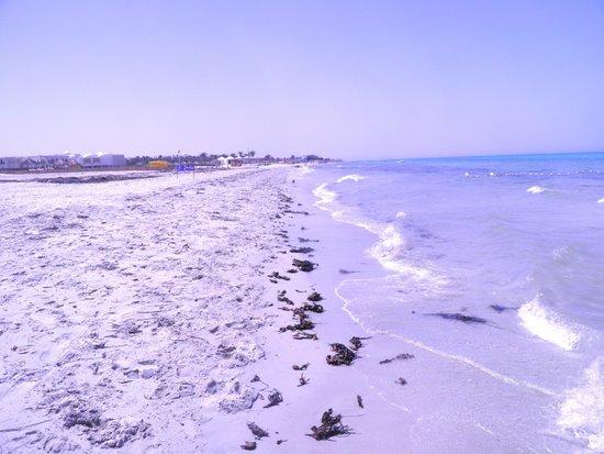 Hotel Djerba Haroun: Private beach
