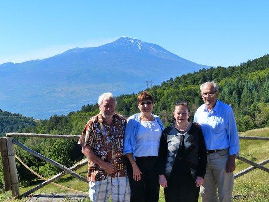 Agriturismo Il Noceto: Avec Giovanna et Riccardo