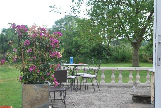 The House near Bath: On the veranda