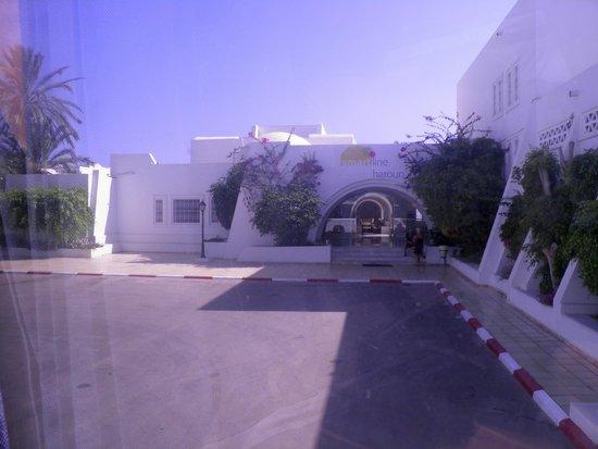 Hotel Djerba Haroun: Reception- front of hotel