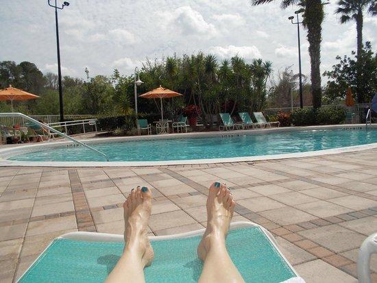 Comfort Suites Maingate East: Nice quiet pool area