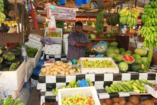 Male Local Market : Vendor @ Local Market