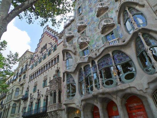 Passeig de Gràcia : Casa Batllò e Casa Amatller
