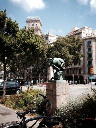 Passeig de Gracia: Monumento