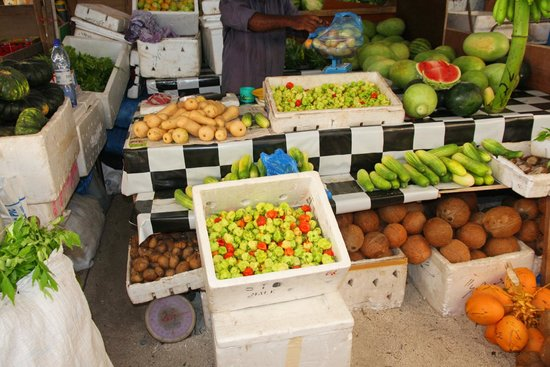 Male Local Market : Fruits