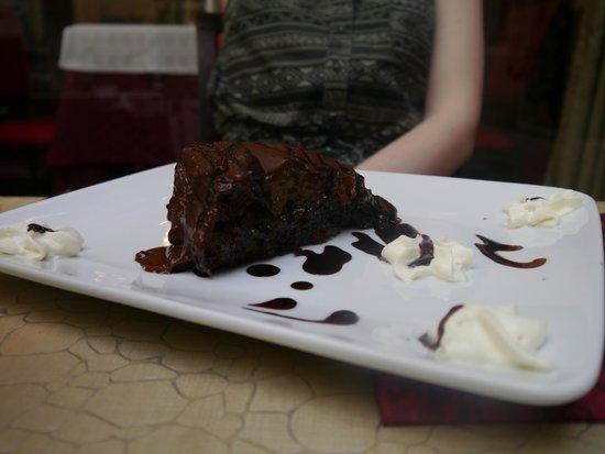 Osteria Ae Sconte: Sacha cake