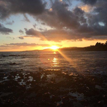 The Point at Poipu: Poipu beach sunset