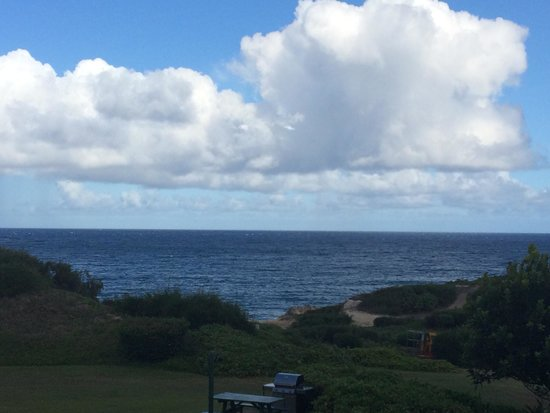 The Point at Poipu: View off our lanai