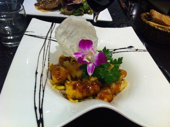 Restaurant UMAMI : Tempura de Poulet