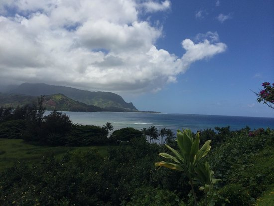 The Point at Poipu: Hanalei bay