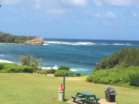 The Point at Poipu: View from our lanai
