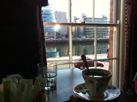 Ferryman Hotel: Vista desde comedor
