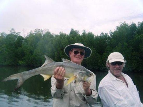 Clearwater Island Lodge: Threadfin Salmon