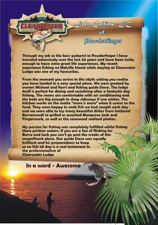 Clearwater Island Lodge : Powderfinger
