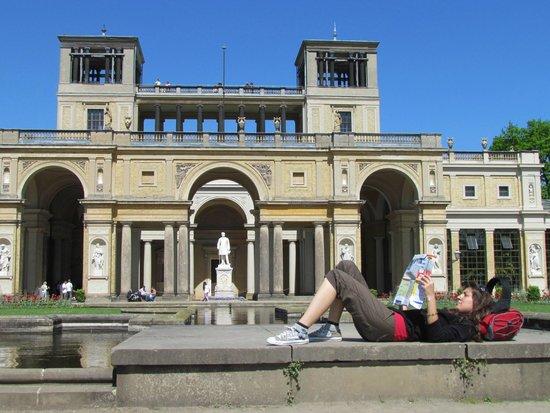 Potsdam's Gardens : reading map its free