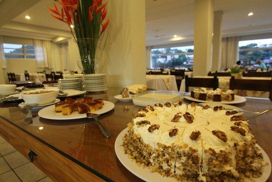 Hotel Fredy: Buffet de Sobremesas