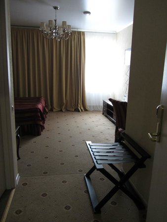 Pushkin Hotel: Look at the size of the room when you enter!