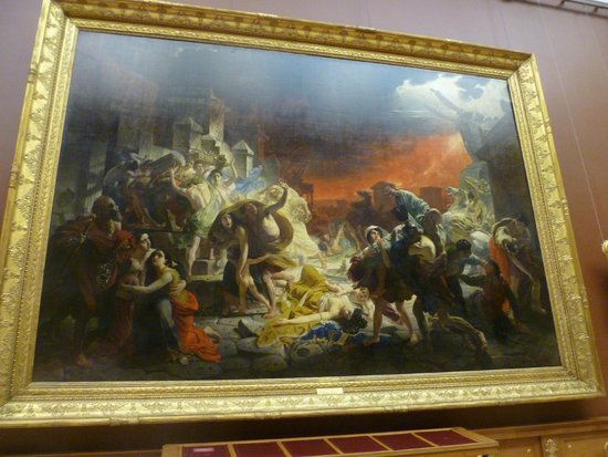 "Russisches Museum: ""The Last Day of Pompeii"" by Briullov"
