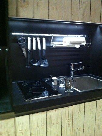 25hours Hotel beim MuseumsQuartier: Küche