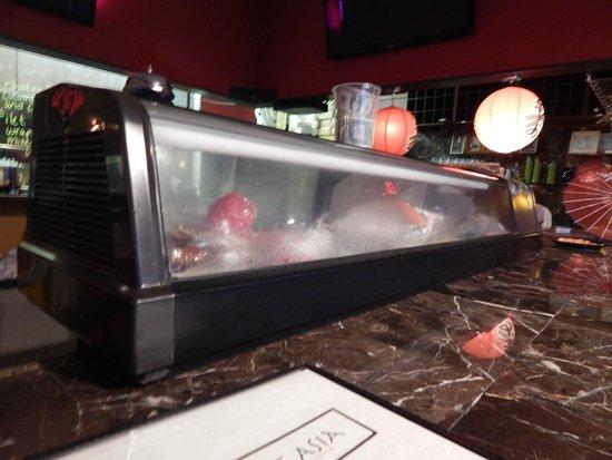 Bowl of Asia: sushi