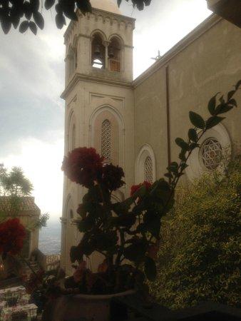 Hotel Villa Sonia : Piazza in Castelmola