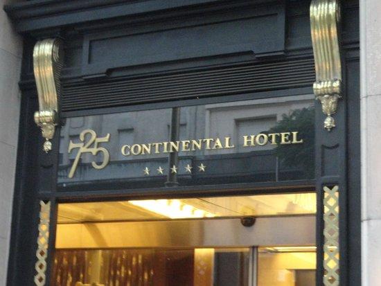 725 Continental Hotel: hotel