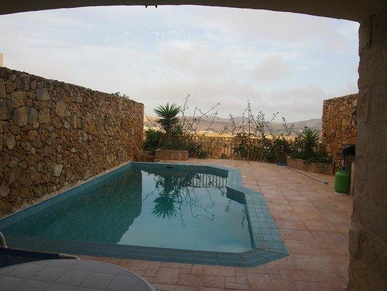 Bellavista Farmhouses Gozo: The pool