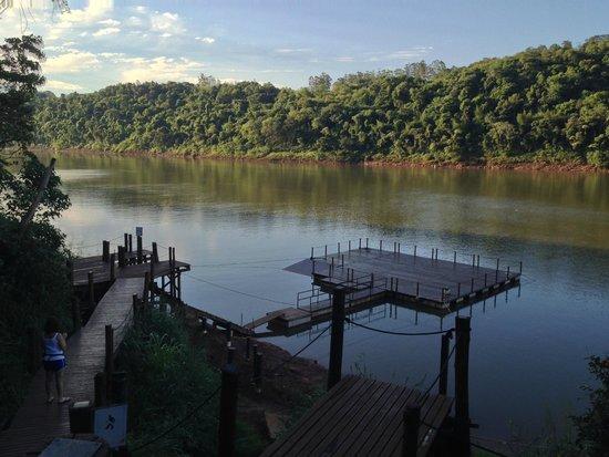 Loi Suites Iguazu: tiene un muellecito propio