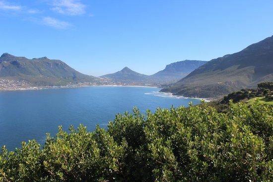 Hout Bay: Vista da baía