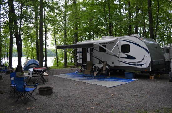 Otter Lake Camp Resort: Our campsite