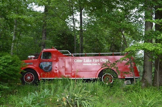 Otter Lake Camp Resort: Otter Lake Fire Engine