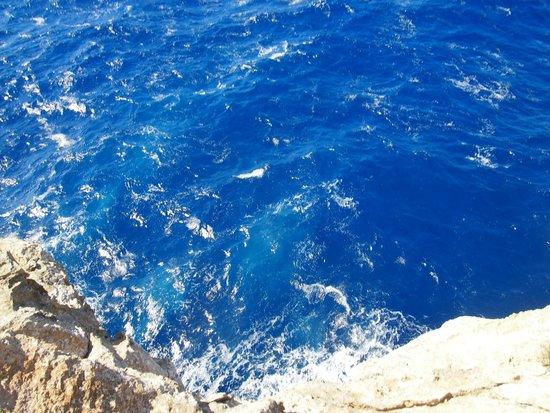 Bellavista Farmhouses Gozo : Colour of the sea